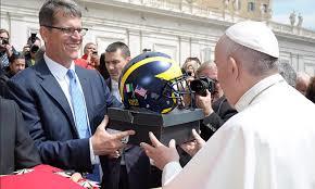 Pope Blesses Michigan FootballSeason