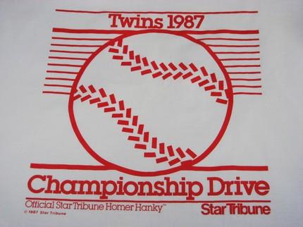 Twins Homer Hankie