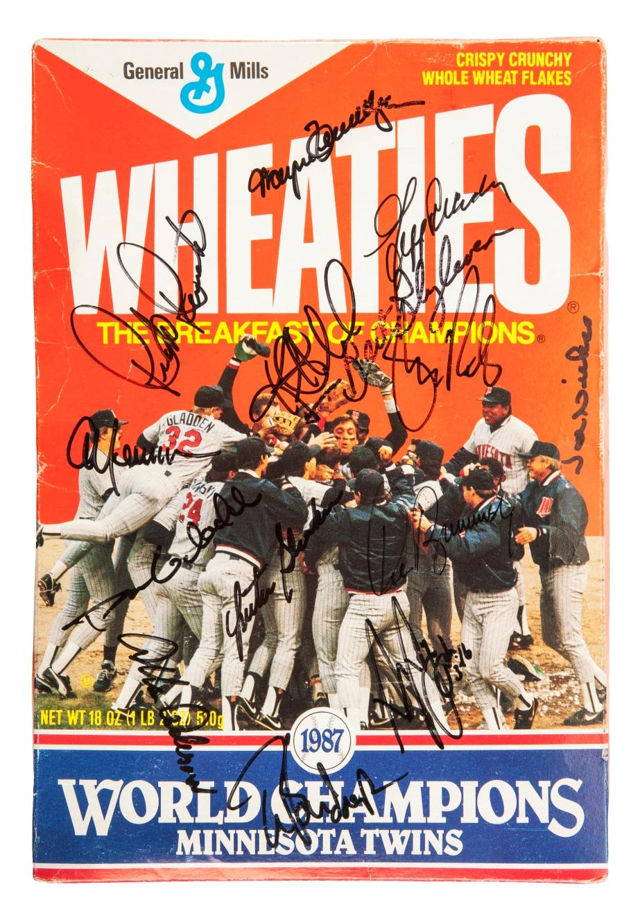 Minnesota Twins Win The 1987 World SeriesAgain