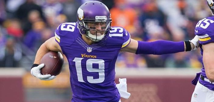 Viking Adam Thielen Living The Dream