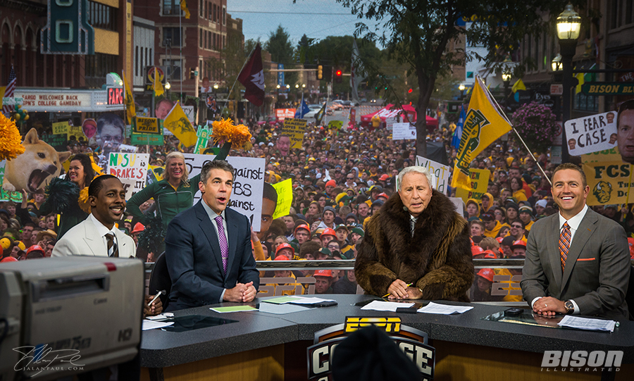 College_GameDay_NDSU_Bison_Fargo
