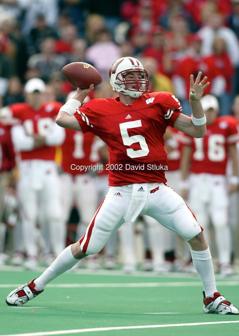 Wisconsin quarterback Brooks Bollinger.