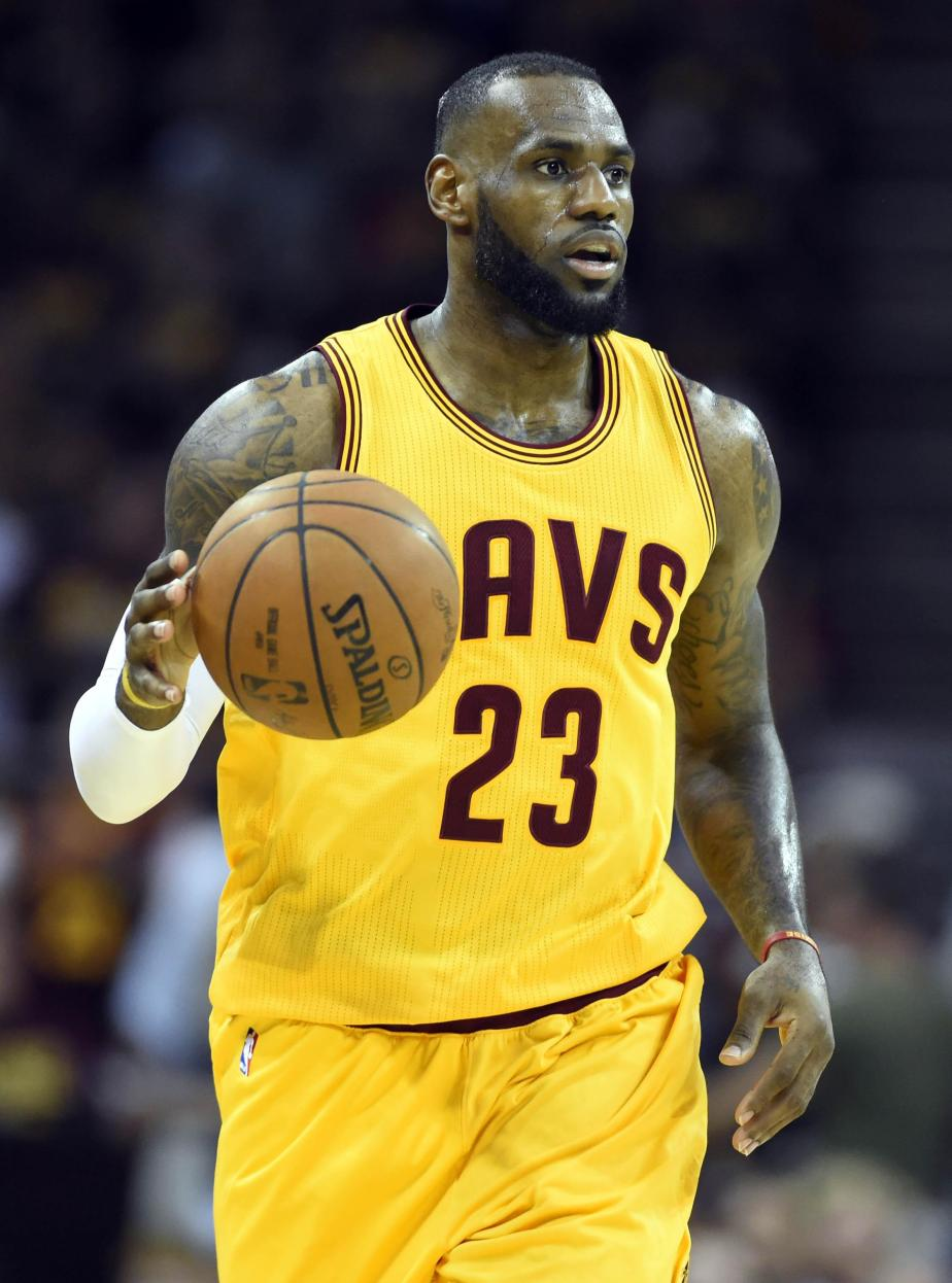 King James Sits Alone Atop TheThrone