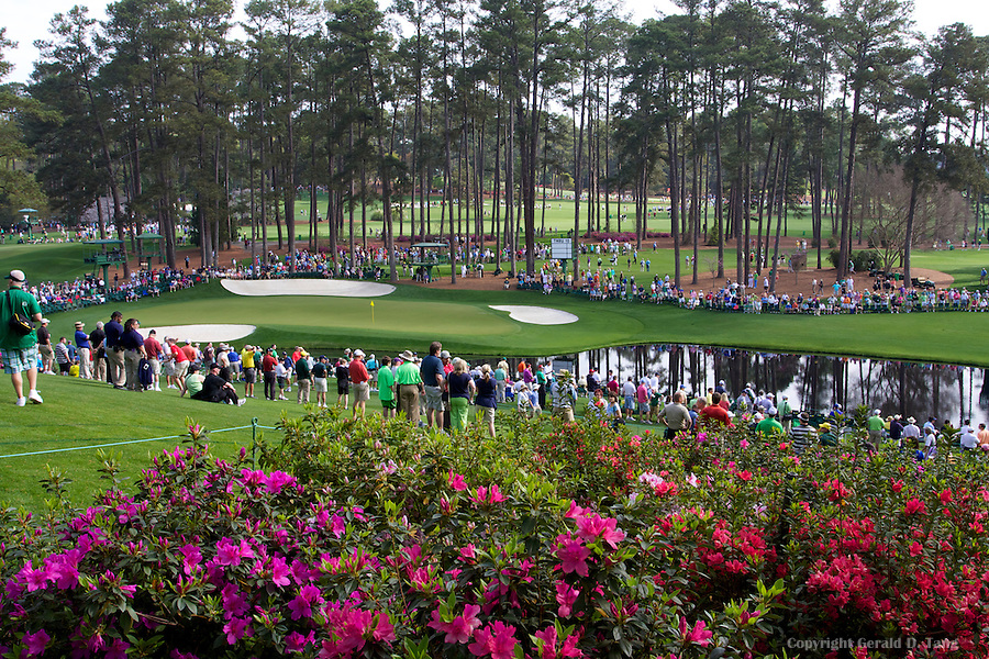 16th Hole Green at Augusta National  821390