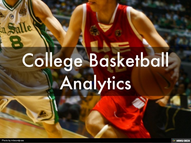 College Basketball Analytics Need Analyzing